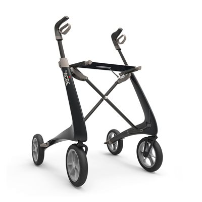 Rollator - ByACRE Carbon Ultralight - Sort