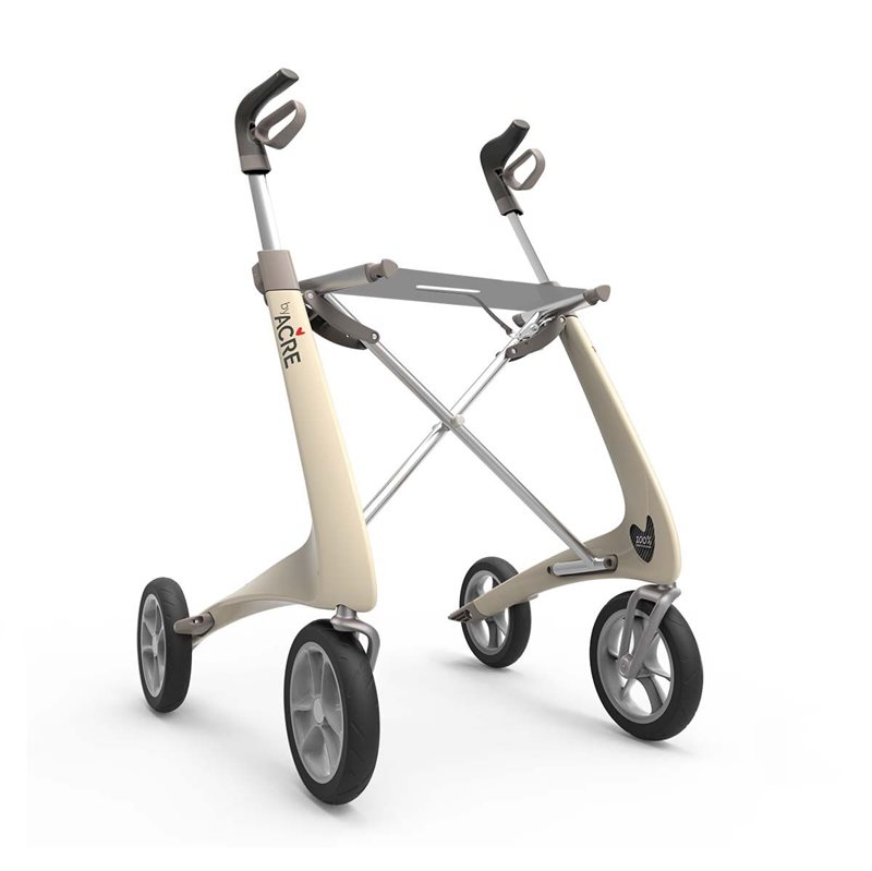 Rollator - ByACRE Carbon Ultralight - Cremehvid